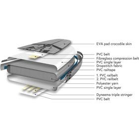 Indiana SUP 11'6 Touring LITE Pack Premium SUP Hinchable con Pala Carbono de 3 Piezas, white